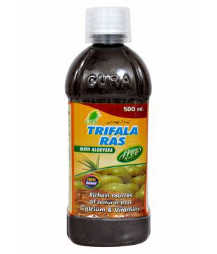 Cura triphala ras with aloevera
