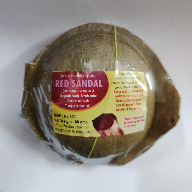Khadi Red sandal natural soap | Munnala Dawasaz