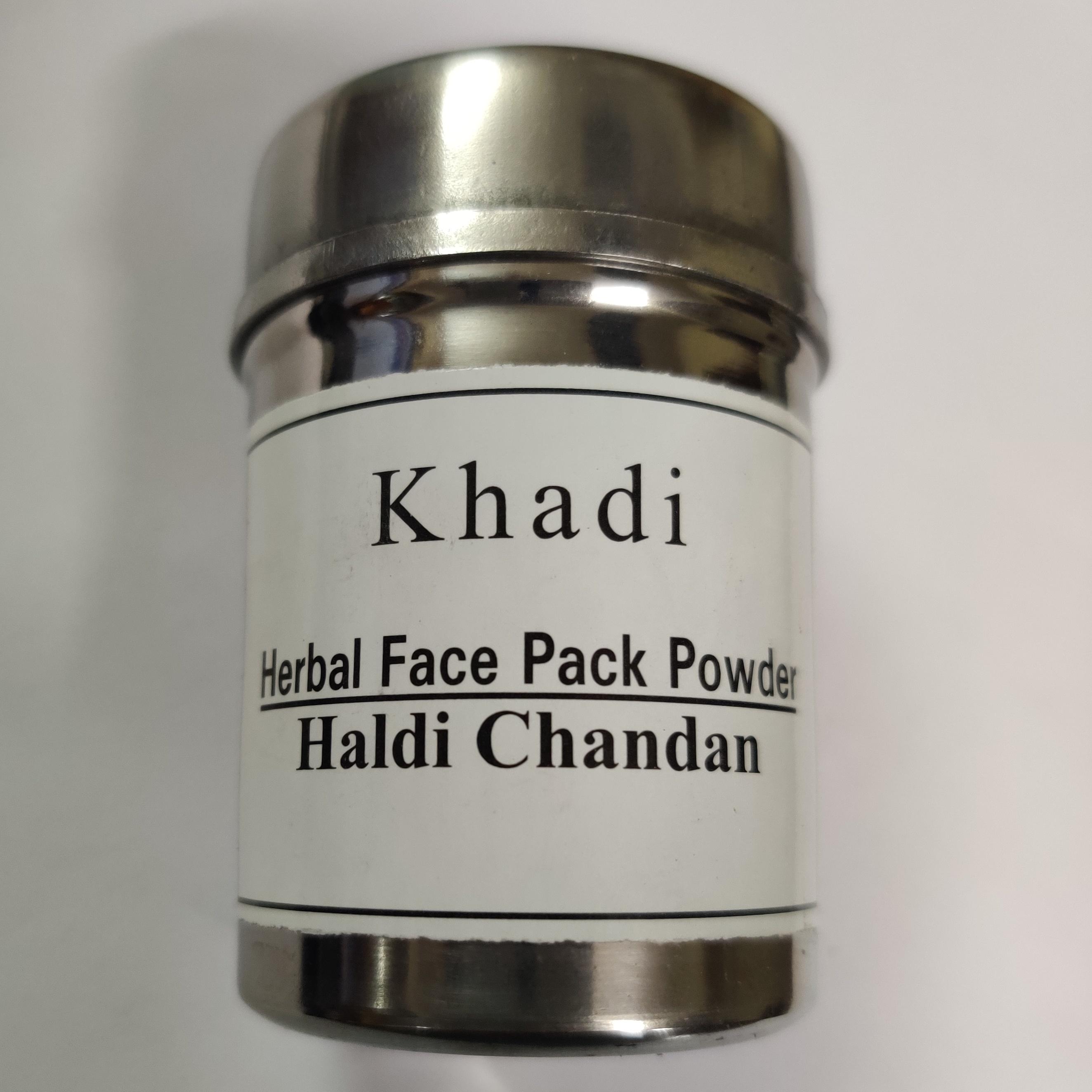 Khadi haldi chandan facepack