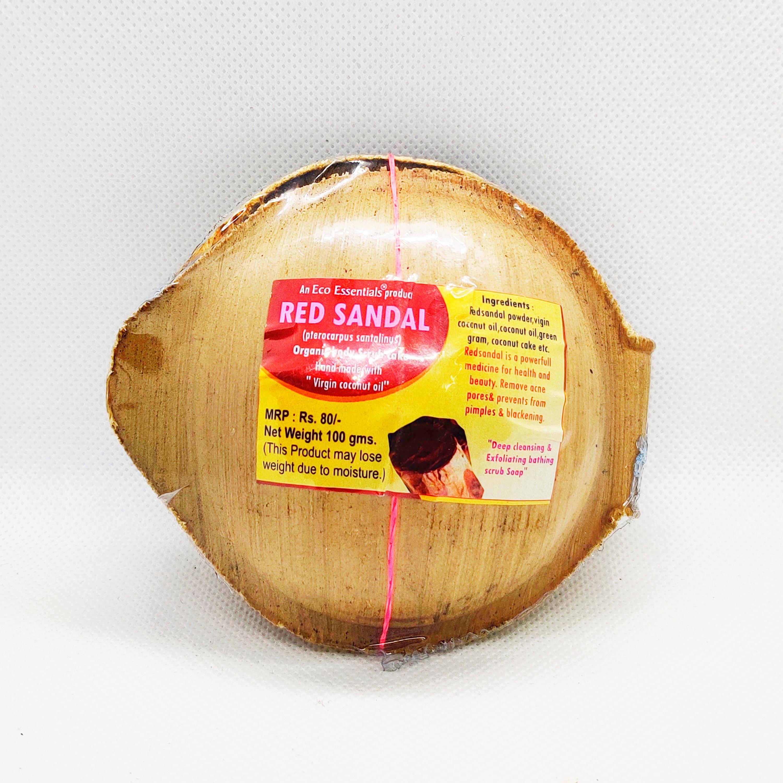 Khadi Red sandal natural soap