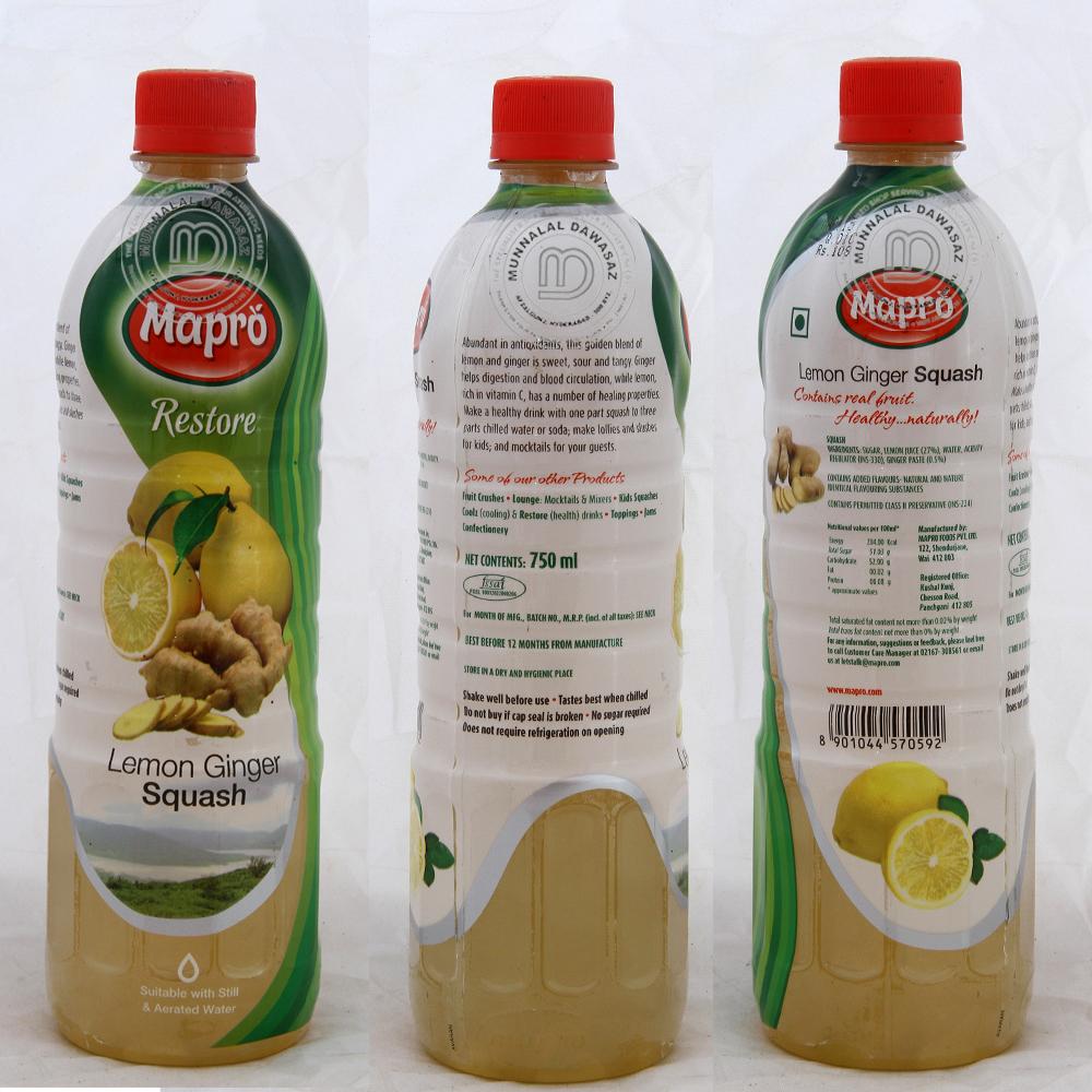 Mapro Lemon Ginger crush