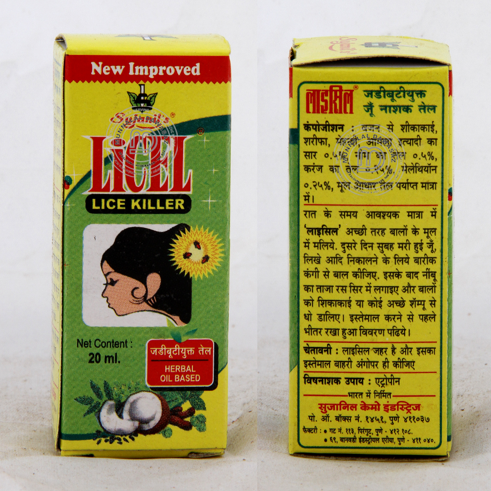 Licel Lice Killer Hair Oil