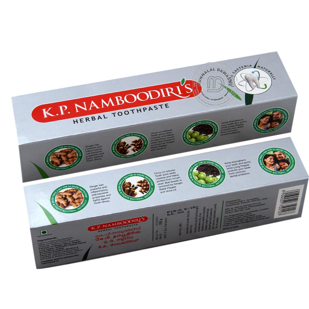K.P.Nambodris Herbal Tooth Paste