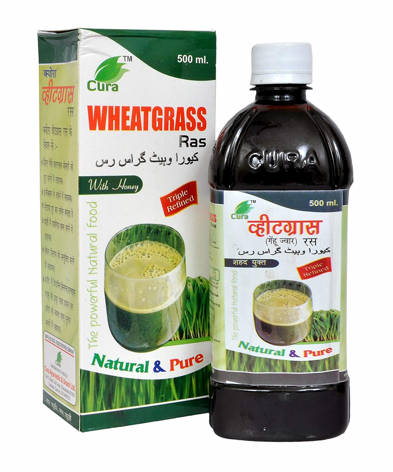 Cura wheatgrass ras