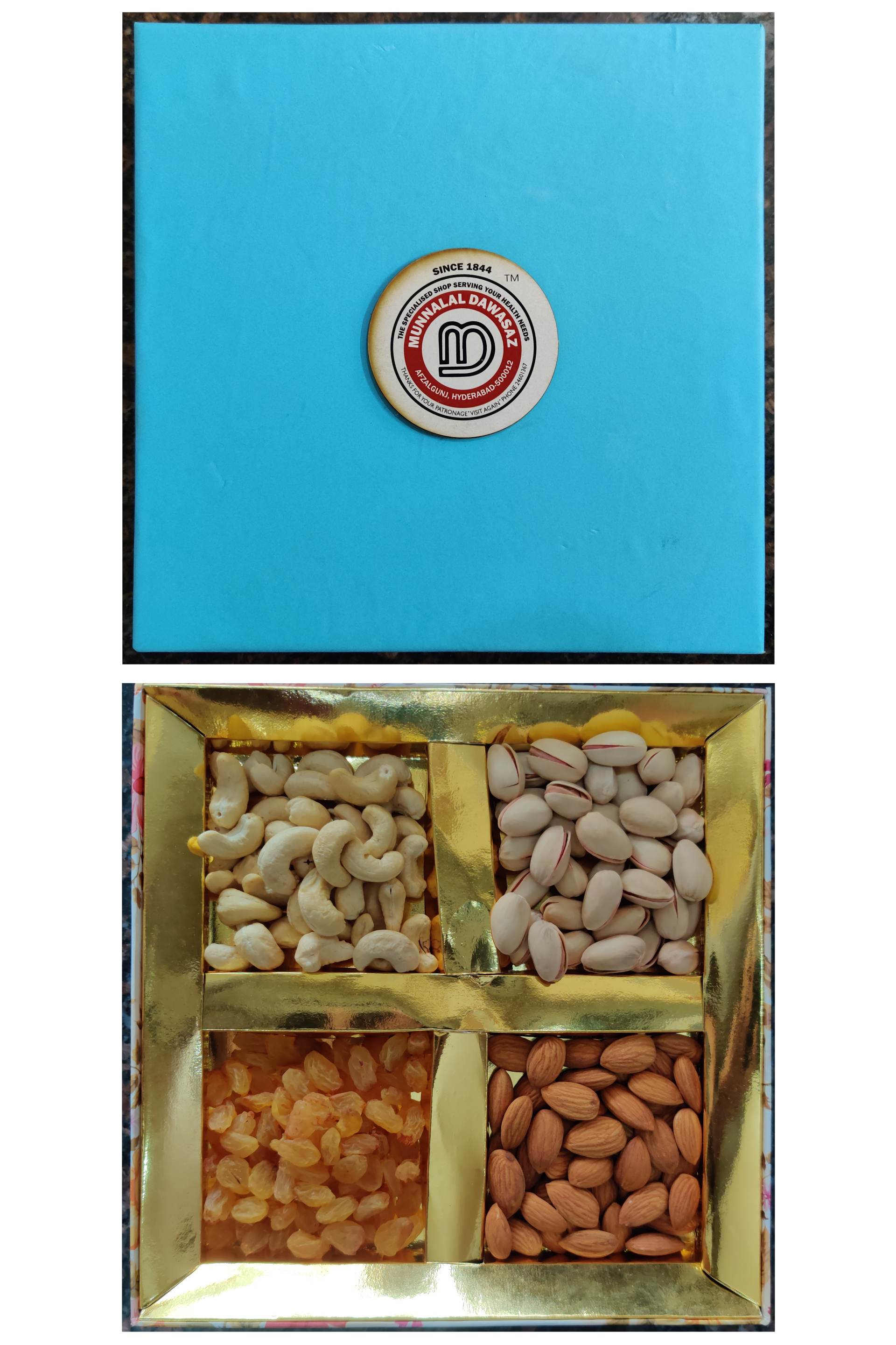 Dry fruit gift box 2